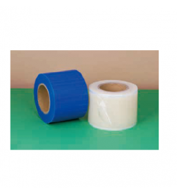 Barrier Film blue,stick edges,Shrink wrap packaging