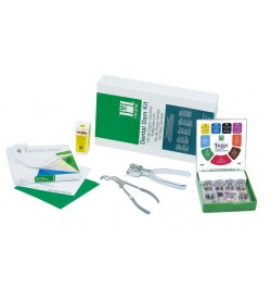 DENTAL DAM STARTER KIT WITH PUNCH, FORCEPS
