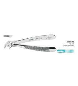 EXTRACTING FORCEPS FIG. 13 DD300-13