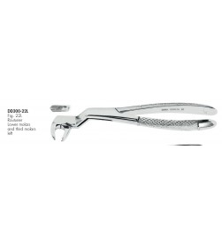 EXTRACTING FORCEPS FIG. 22L DD300-22L