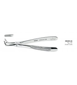 EXTRACTING FORCEPS FIG. 45 DD300-45