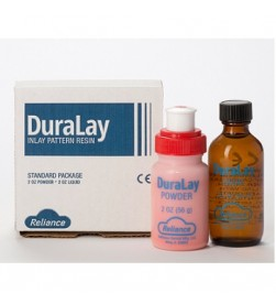 DURALAY STD PKG- INCLUDES 2 OZ. POWDER, 2 OZ. LIQUID / RED