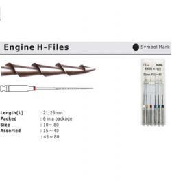 ENGINE H-FILES 25mm