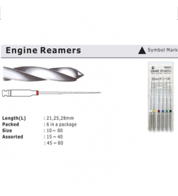 ENGINE REAMERS 25MM PK/6