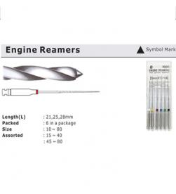 ENGINE REAMERS 25MM PK/6