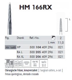 CARBIDE ORAL SURGERY HM-166RX