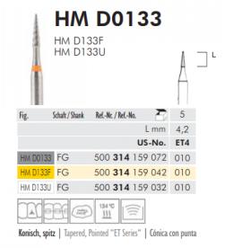 TWIST FINISHING BURS - HM D 0133
