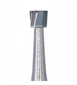 Inverted Cone Tungsten Carbide Bur - low speed