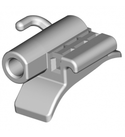 Maxillary tubes  018 Arch Slot - First Molar Left