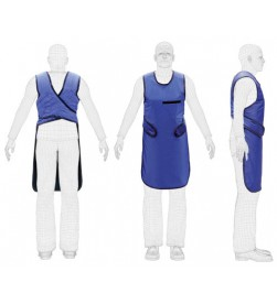 X-ray lead apron Blue Lead Apron 0.35mmPb