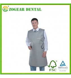 X-ray lead apron Gray Lead