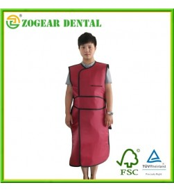 X-ray lead apron Red, Lead Apron 0.35mm