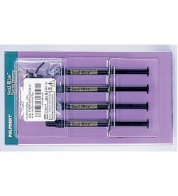 Seal-Rite Pit & Fissure Sealant Kit: 4 x 1.2 mL syringes Seal-Rite 8 applicator tips